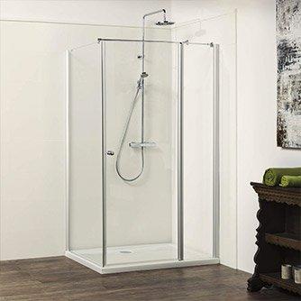 Glasdusche Türe & Seitenwand - Glasdusche von Dusbad