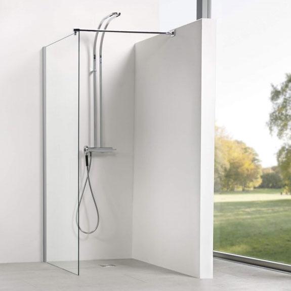 Walk In Dusche aus Glas - Dusbad - Die Badmanufaktur